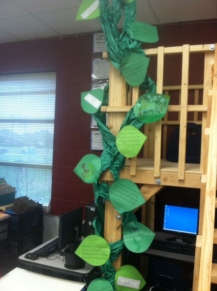 Jack and the Beanstalk, measurement, and forest biomes.