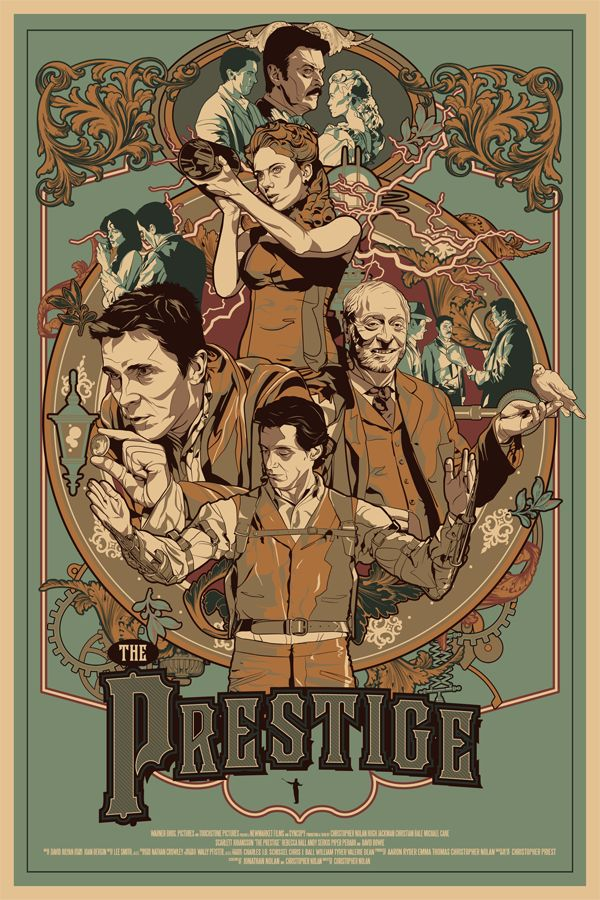 The Prestige by Vincent Rhafael Aseo / Tumblr / Store