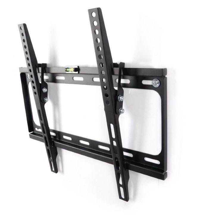 "Super Low Profile LCD LED Plasma Angle Tilt Function TV Wall Mount Bracket 26""-55"""
