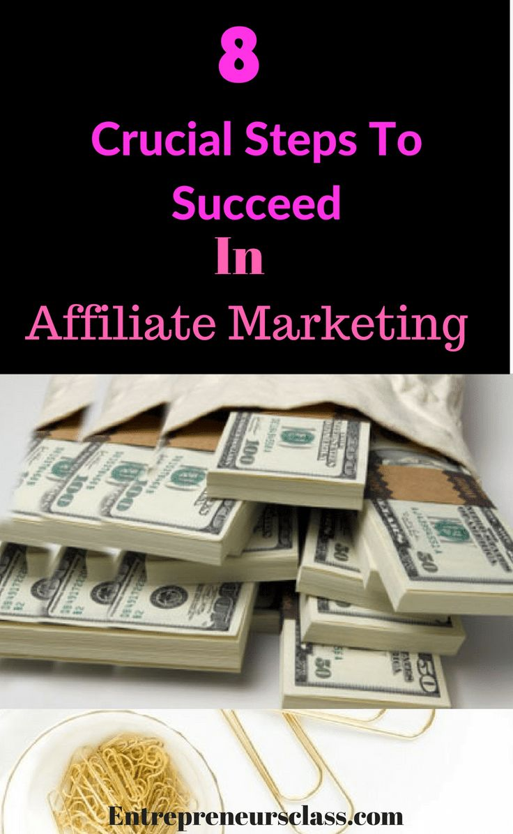 Affiliate marketing for beginners: The 8 steps to succeed with affiliate marketing. Check out our guide on how to make money with affiliate marketing.
