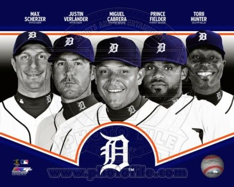 Detroit Tigers Players | Detroit Tigers 2013 Team Composite Photo at AllPosters.com