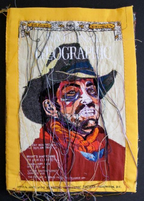 textile portrait - Lauren DiCioccio