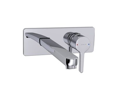 Viteo Wall Mount Basin Set    Features:    Ceramic disc valve  Suitable for mains pressure  Metal construction  KOHLER finish resists tarnishing and corrosion
