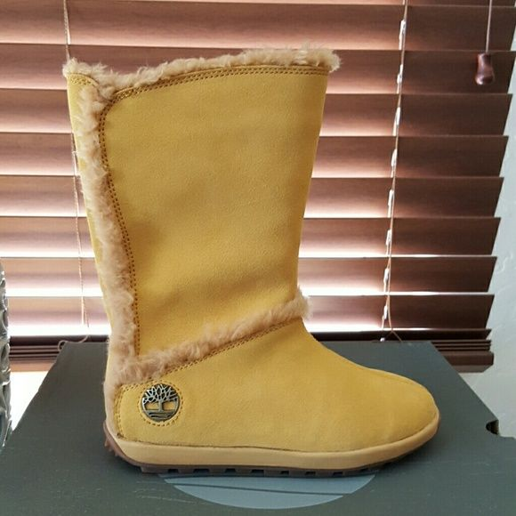 Selling this Timberland Mukluk pull on shearling boots 5.5 NIB in my Poshmark closet! My username is: reupscalecycle. #shopmycloset #poshmark #fashion #shopping #style #forsale #Timberland #Shoes