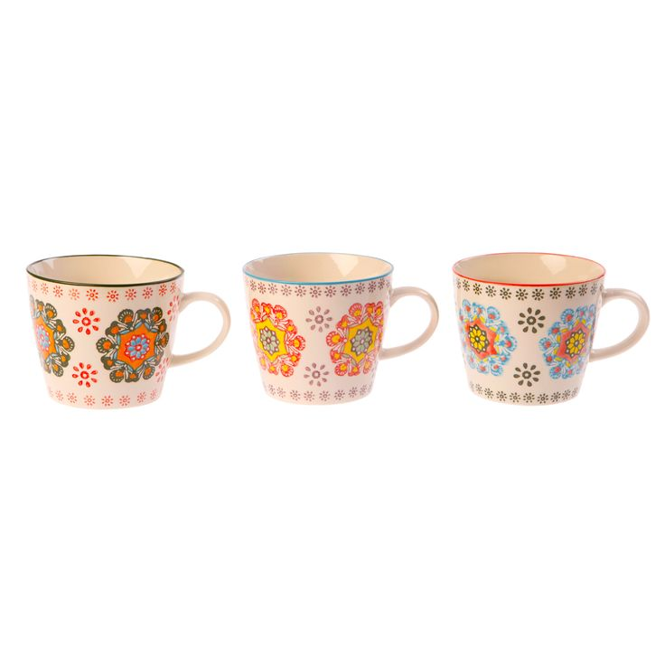 Ceramic Folk Mugs. Set of 3. Find them here http://www.smallthings.gr/shop/cooking-room-2/%CE%B1%CE%BD%CE%BF%CE%B9%CE%BE%CE%B9%CE%AC%CF%84%CE%B9%CE%BA%CE%B7-%CE%BA%CE%B5%CF%81%CE%B1%CE%BC%CE%B9%CE%BA%CE%AE-%CE%BA%CE%BF%CF%8D%CF%80%CE%B1/#.ViYtwdXhA0M