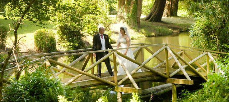 Beautiful Holne Park House wedding venue in Devon