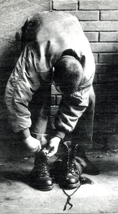 #skinhead #boots flight jacket