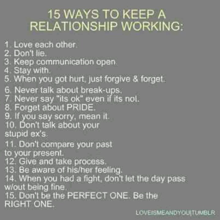 Things That Keep A Relationship Strong