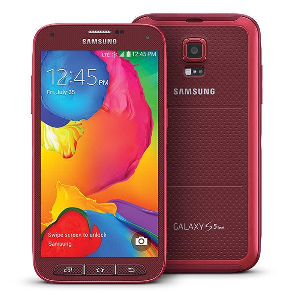 Samsung Galaxy S ® 5 Sport (Sprint), Cherry Red