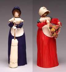 bonecas de palha de milho