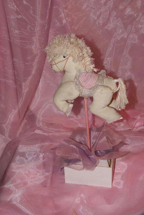 Caballitos de manta para Baby shower.   Centros de mesa   Pinterest