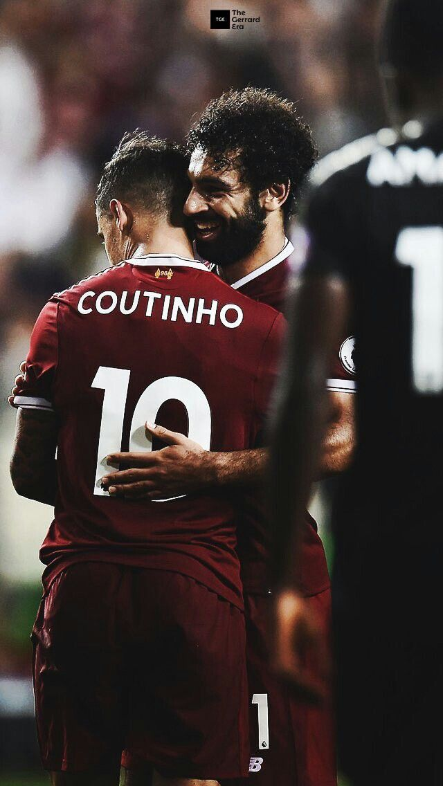 Coutinho and Salah. Liverpool