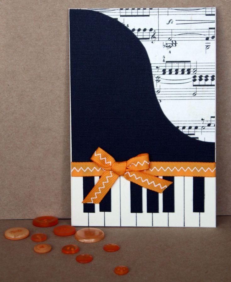 Как сделать открытку для музыканта