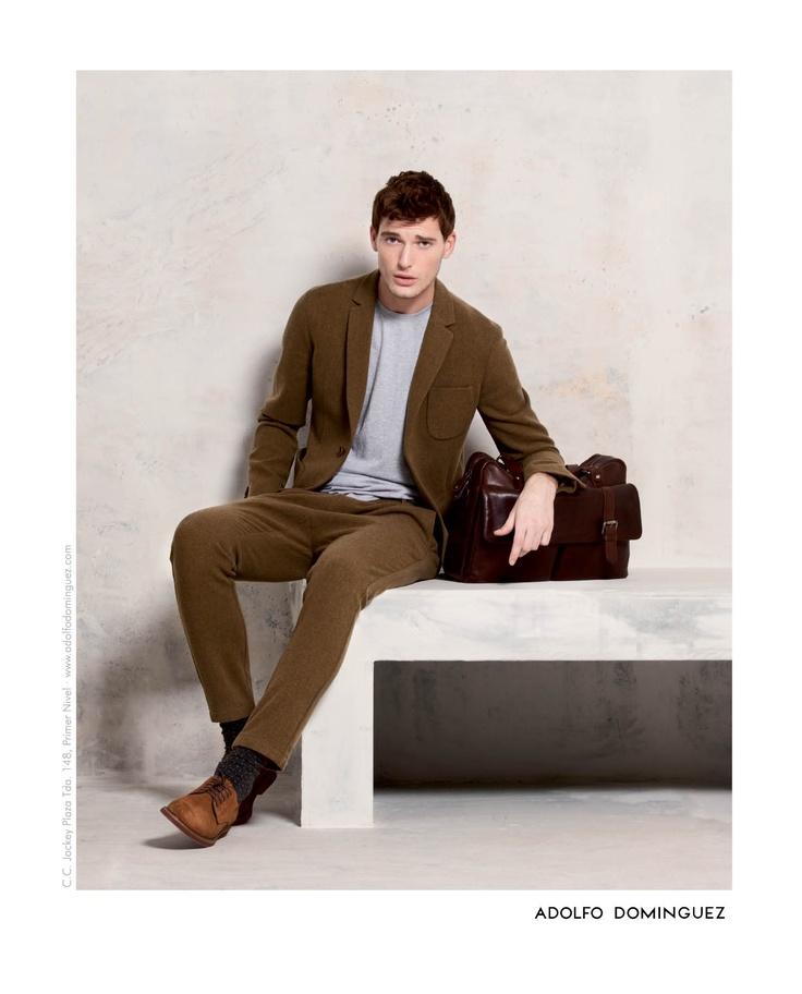 Adolfo Dominguez #Men #Fashion #Minimalist #Trend