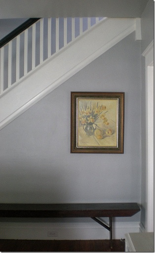 Benjamin Moore Coventry Gray - up stairs