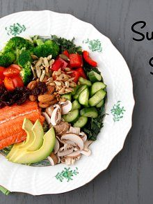 Superfood Salad via {Weelicious}