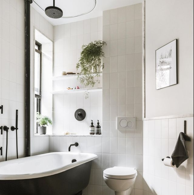 35 Design Ideas That Will Make Small Bathrooms Feel So Much Bigger In 2020 Guest Bathroom Small Bathroom Design Bathroom Design Small