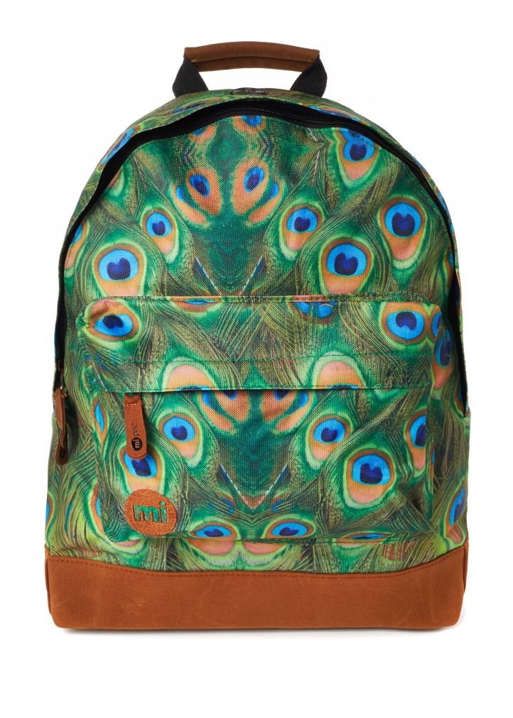 Mi Pac Peacock Backpack Front