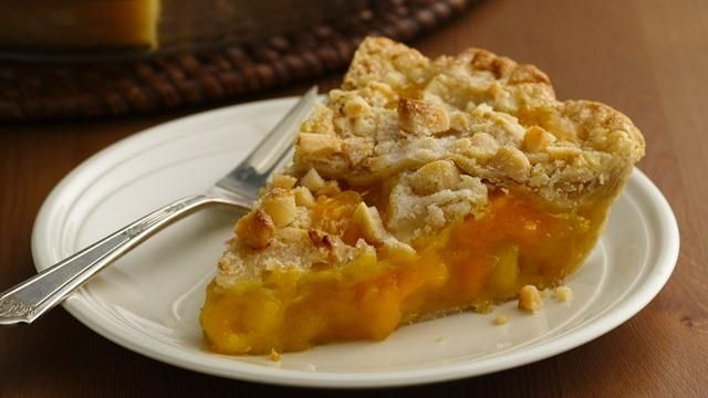 Mango Pineapple Pie with Macadamia Lattice Crust: This state fair pie ...