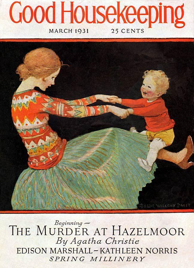 """Jessie Wilcox Smith (1863-1935), """"Good Housekeeping, March 1931"""""""