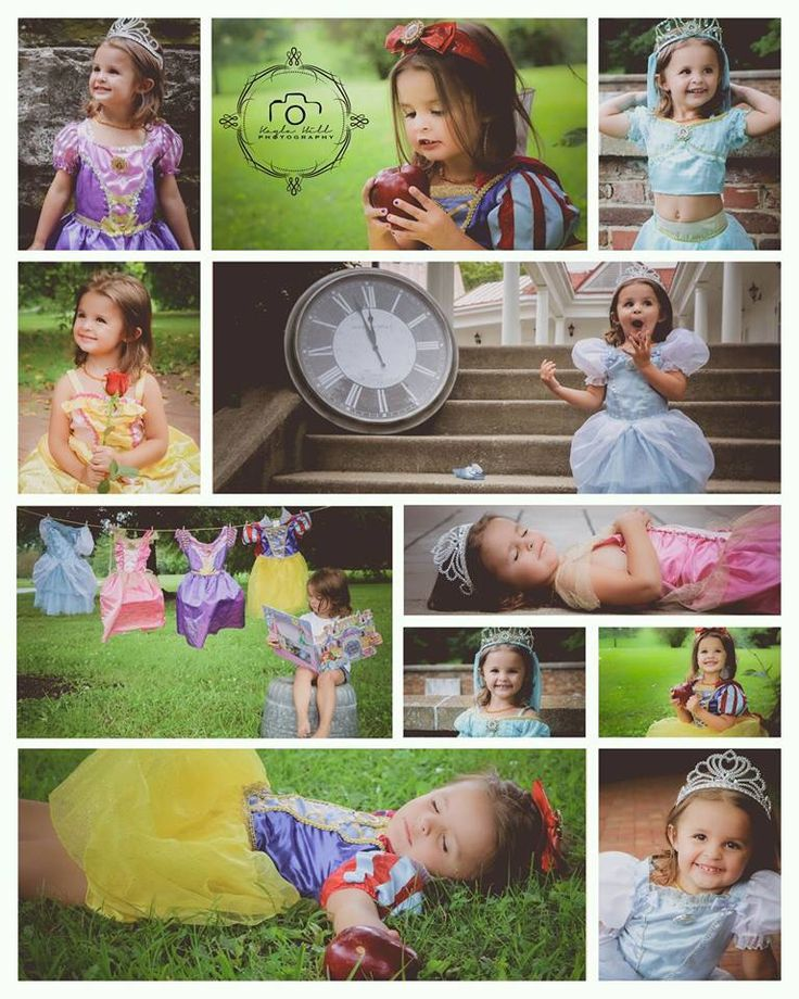 Disney princess photo shoot #disney #princess #toddler #photoshoot