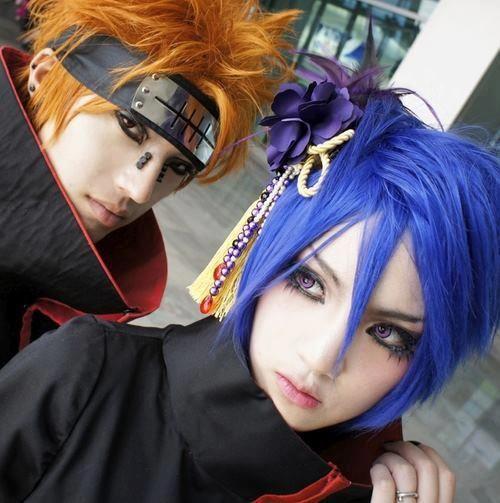Naruto cosplay Pain Konan anime online manga tv streaming legal gratuit