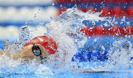 Ledecky heading to Rio wins 400 free at US Olympic trials - Tulsa World
