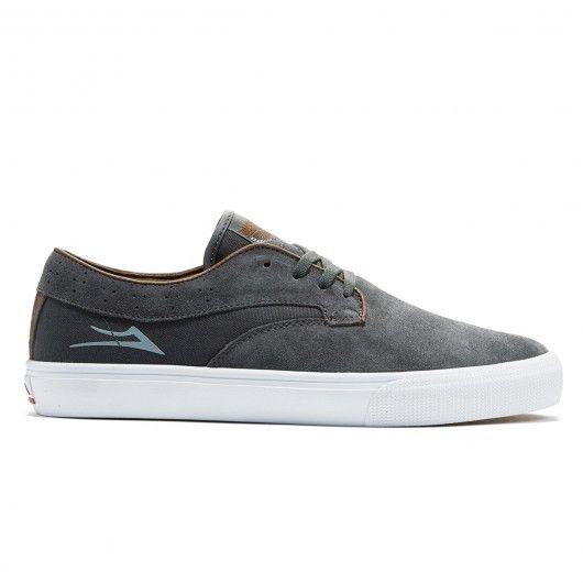 Chaussures de skate pro Lakai Riley Hawk charcoal 85,00 € #skate #skateboard…