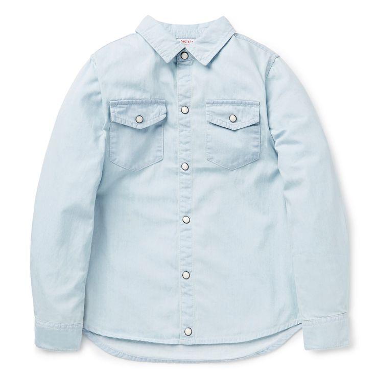 Shop now: Chambray Shirt. #seedheritage #seed #child