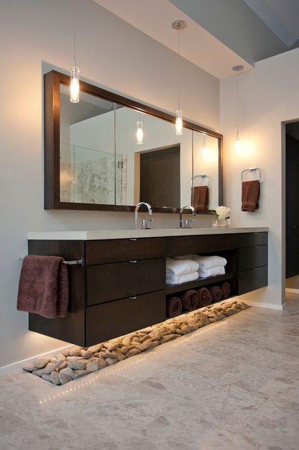 baño moderno por Ryan Duebber Arquitecto, LLC