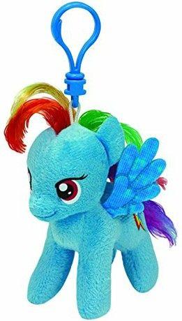 ty41105 – Plush – TY Beanie Baby – My Little Pony – Rainbow Dash Clip 5cf6ce8c47eb