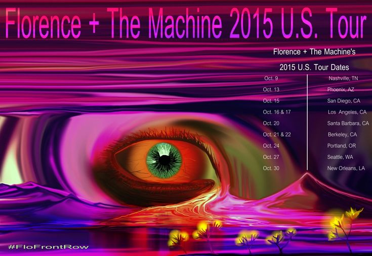 Florence + The Machine 2015 USA Tour