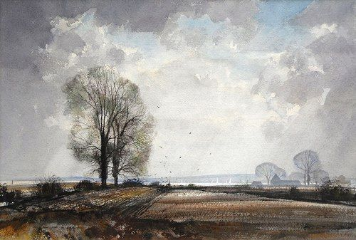 Rowland Hilder (1905 – 1993)    East Coast Estuary