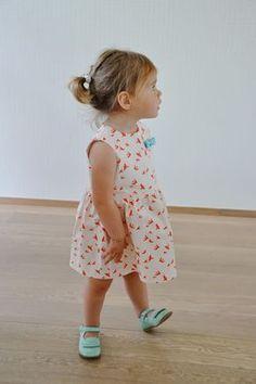 Freebook (néerlandais mais bien illustré) douce robe pour enfants / filles …   – Kids