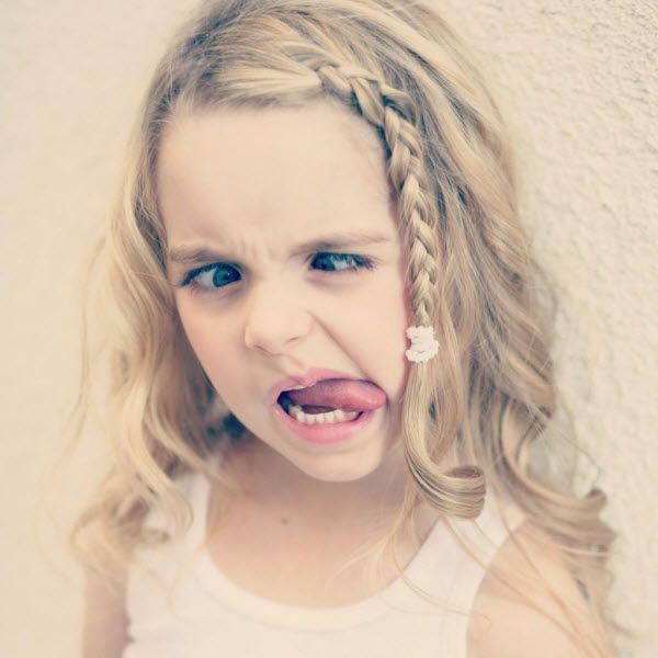 As reported by Dis411...Photo: Mckenna Grace Makes An Adorable Funny Face