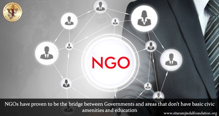 NGOs have proven to be the bridge between Governments and areas that don't have basic civic amenities and education. It has been our quest at SJF to identify worthy NGOs and help them in their cause with various recurring and non-recurring donations. Visit http://www.sitaramjindalfoundation.org/donationstoNGOs.php to learn more.