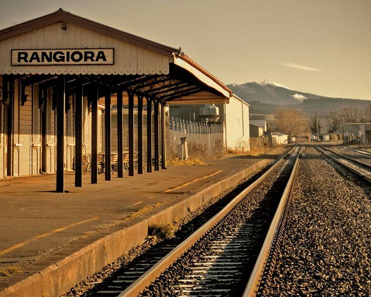 Rangiora Railway Station