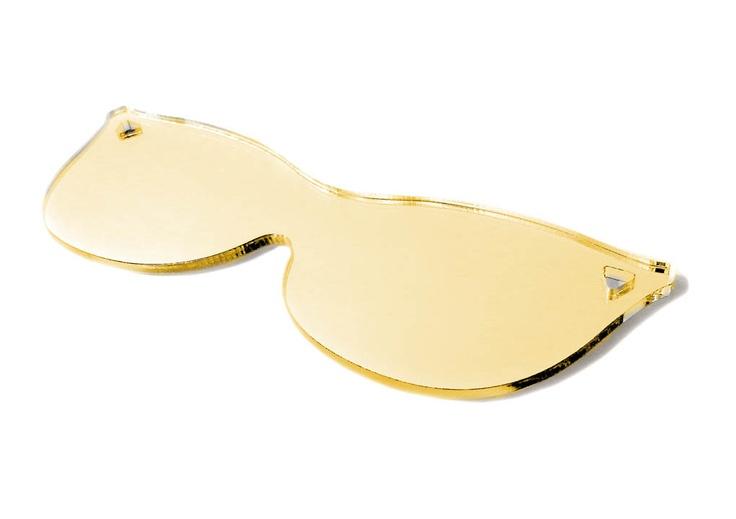 MQ Wien: Modell Audrey in Gold - Taschen-Spiegel 'See You In The Sun' von Walking Chair,  Preis ab € 15 im MQ Point: Von Walks, Prei Abs, Mq Wien, Mq Points, Walks Chairs, Models Audrey