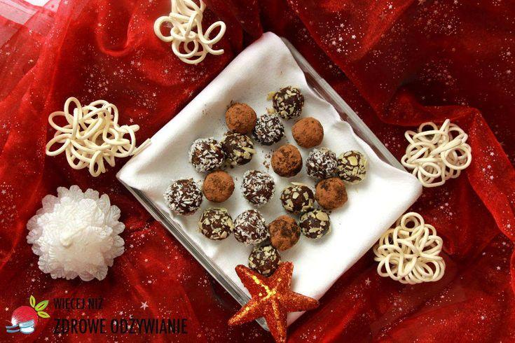 Świąteczne trufle migdałowo kokosowe - Zdrowe Odżywianie, zdrowe słodycze, zdrowe przepisy, sprawdzone przepisy, zdrowy styl życia, dania świąteczne