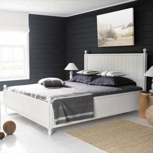 lit newport maison du monde wishlist meubles. Black Bedroom Furniture Sets. Home Design Ideas