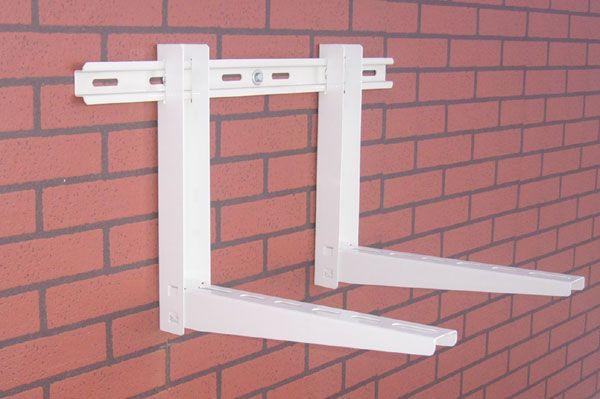 No-Screw Air Conditioner Bracket with sliding bar - http://www.smartclima.com/no-screwair-conditioner-bracket-with-sliding-bar.htm