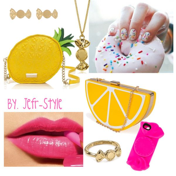 Candy by jeefr on Polyvore featuring polyvore, moda, style, Kate Spade, Nila Anthony and Marc by Marc Jacobs