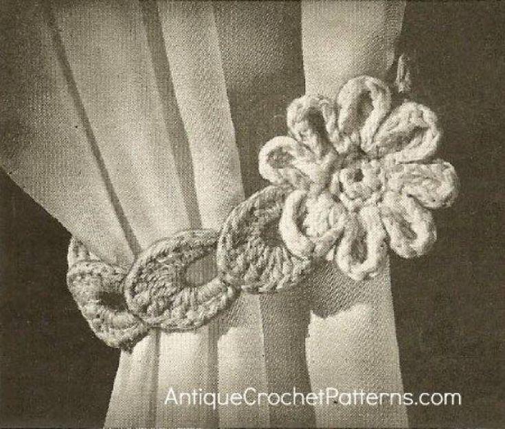17 Best ideas about Crochet Curtains on Pinterest   Crochet ...