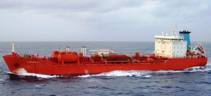Laguna D - ice classed 1A tanker - deadweight tonnage of 15,200 MT