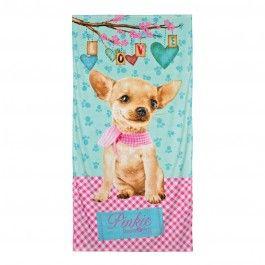 Toalla Studio Pets Pinkie