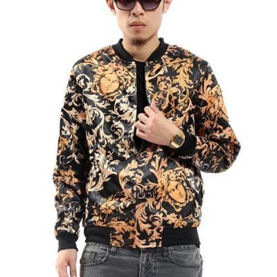 Zero Unisex Luxury Golden Medusa Tattoos Printing Jacket Price:	$39.95 - $79.95 Features Product: Jacket Material: Polyester