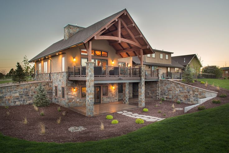 38 best timber frame covered deck outdoor fireplace images for Custom home builders wyoming