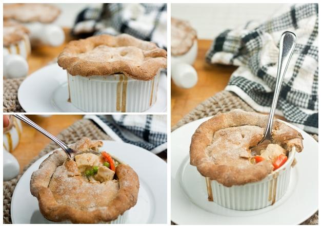 healthier chicken pot pie