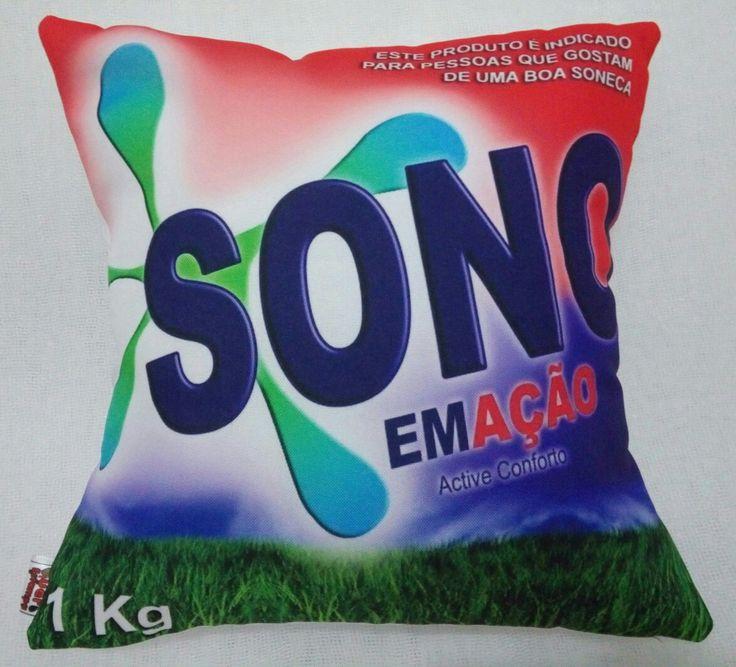 Almofada temática / Pillow - personalizada por Quero Estampas