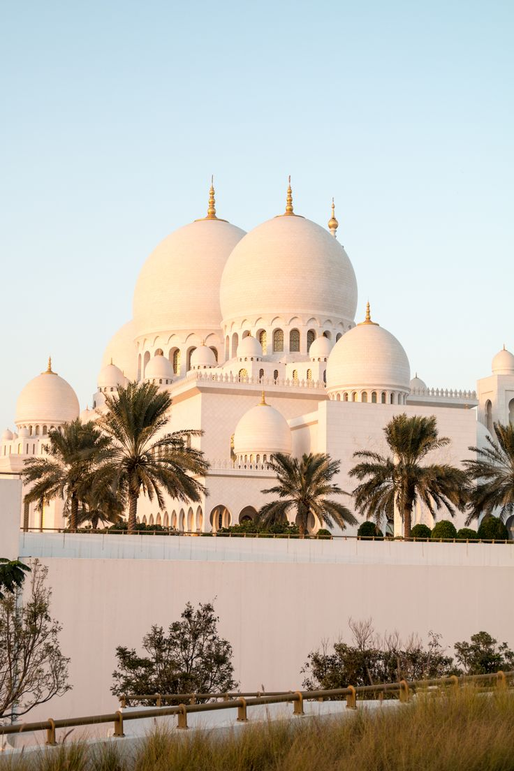 Blue Mosque, Abu Dhabi, UAE